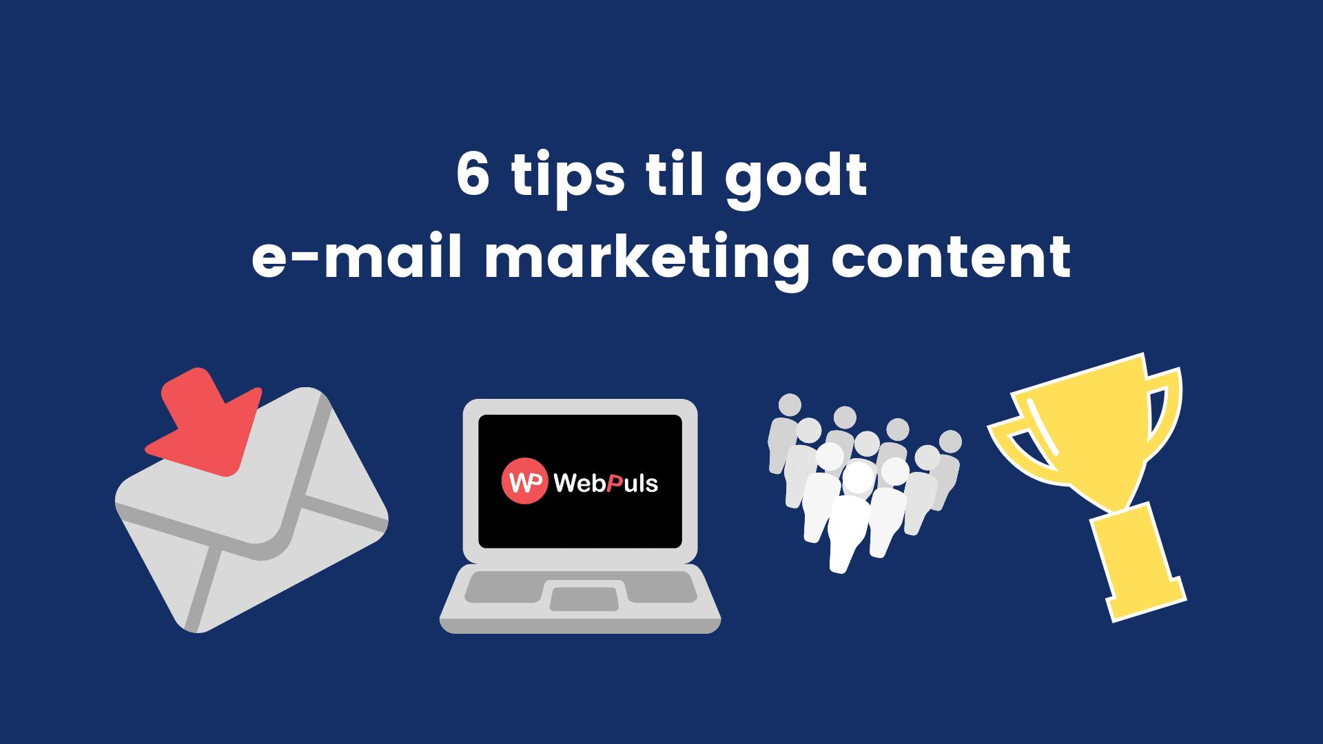Tips til email marketing
