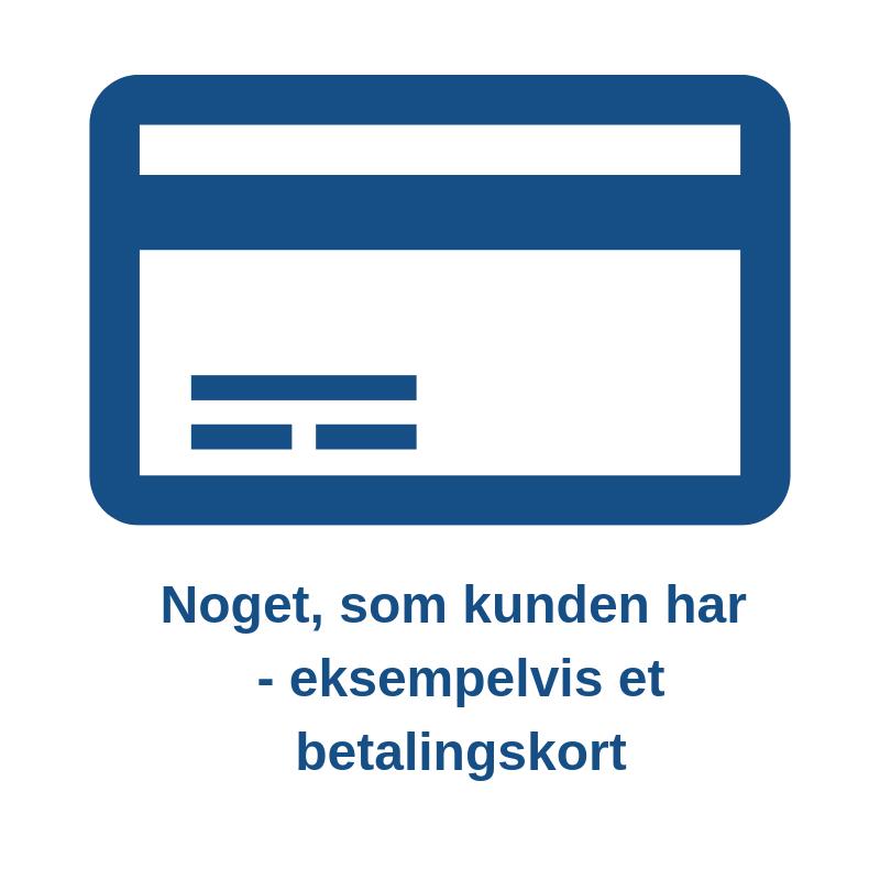 Regler for online betaling Betalingskort