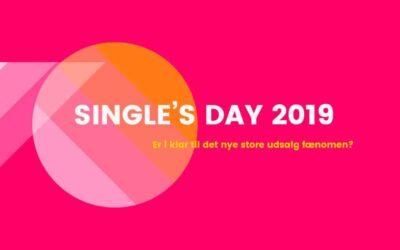 Er din virksomhed klar til udsalg fænomenet Single's Day?