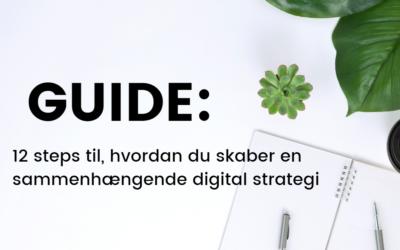 Guide: 12 steps til en stærk digital strategi