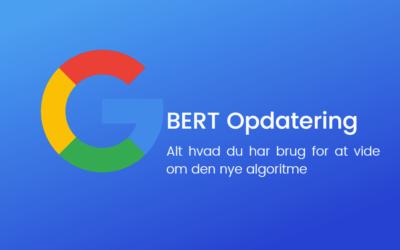 Alt, hvad du skal vide, om BERT algoritmen i Googles søgninger