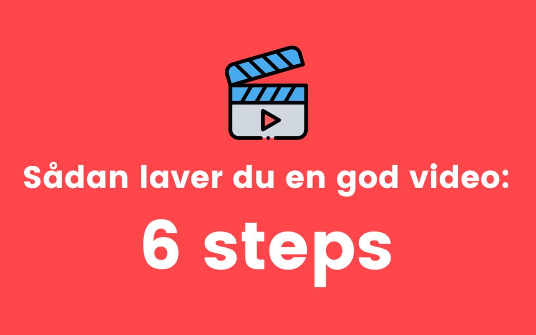 Få succes med video!