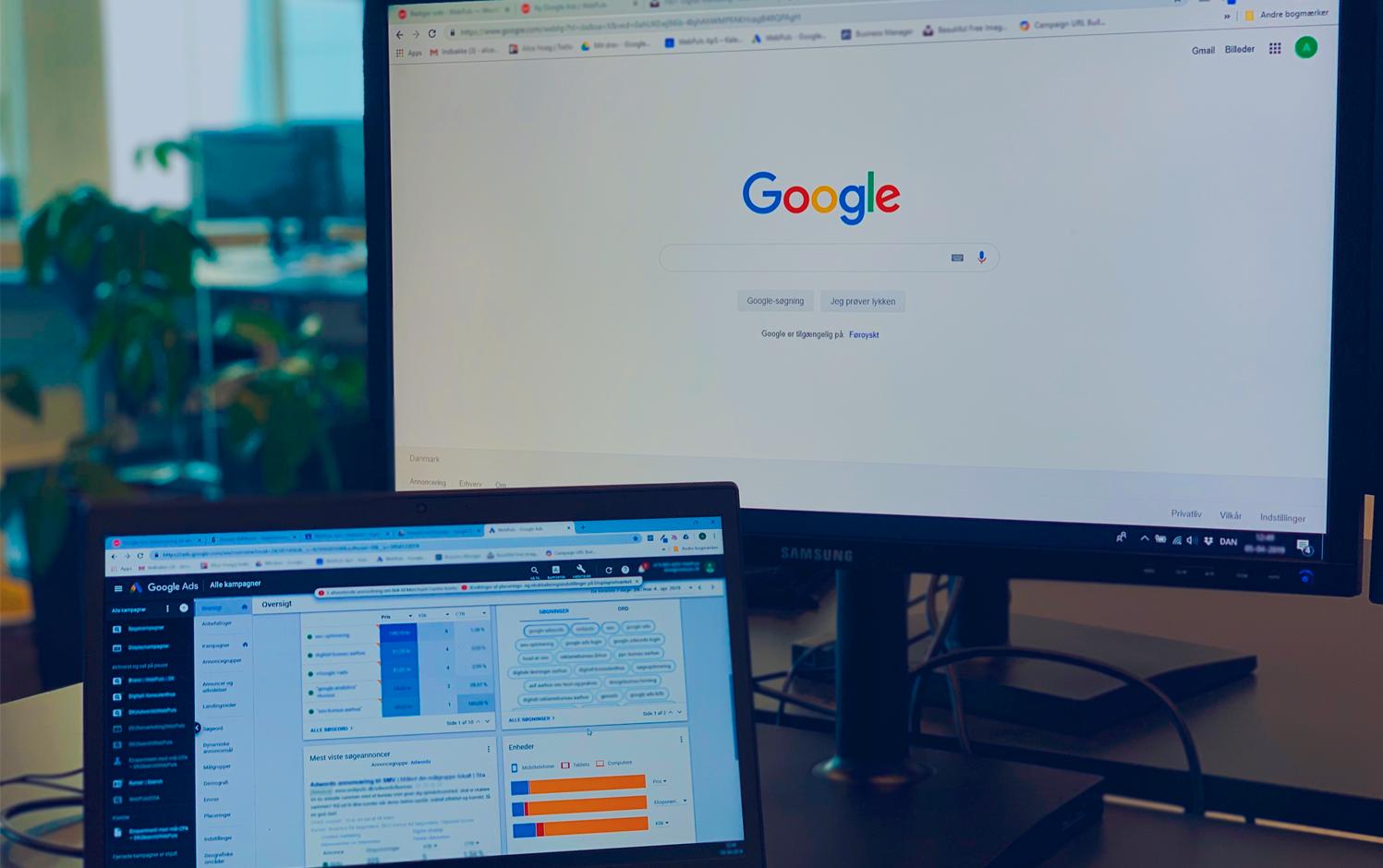 Hjælp til Google ads annoncering