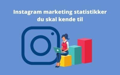 3 statistikker du skal kende til, når du bruger Instagram til markedsføring